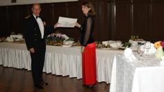 Remise de chèque du GSBdD de Mourmelon