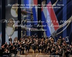 Concert de la SIMMT à Saint-Louis de Versailles