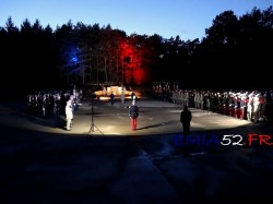 inauguration de la stele
