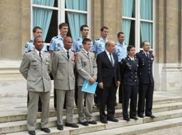 Réception de nos athlètes par le Ministre de la Défense