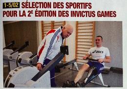 La préparation aux Invictus Games dans Armées d'aujourd'hui (mars 2016)