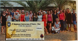 L'Ancre d'or revient sur la générosité du club des épouses du 5ème RIAOM (décembre 2015)