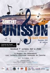 Concert Unisson – Carentan-les-Marais – 21h00