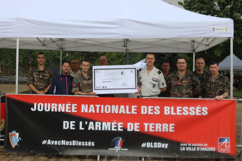 JNBAT – retour sur les dons – merci aux sapeurs d'Angers (juin 2021)