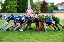Match de rugby à Besançon au profit de Terre Fraternité (7 mai 2015)