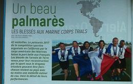 Les Marine Corps Trials dans Terre Information Magazine (avril 2017)