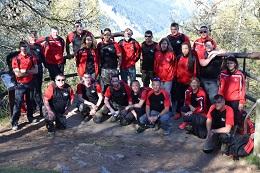 CReBAT 11 – 1ère journée : marche en montagne (23 avril 2017)