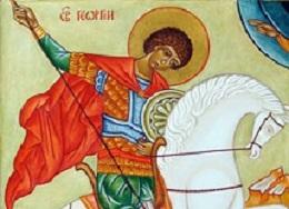 Saint Georges, patron des cavaliers (23 avril 2018)