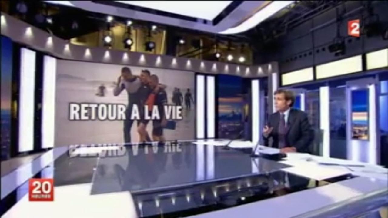 2013 Bidart SMB Reportage France2 – Le surf pour oublier la guerre